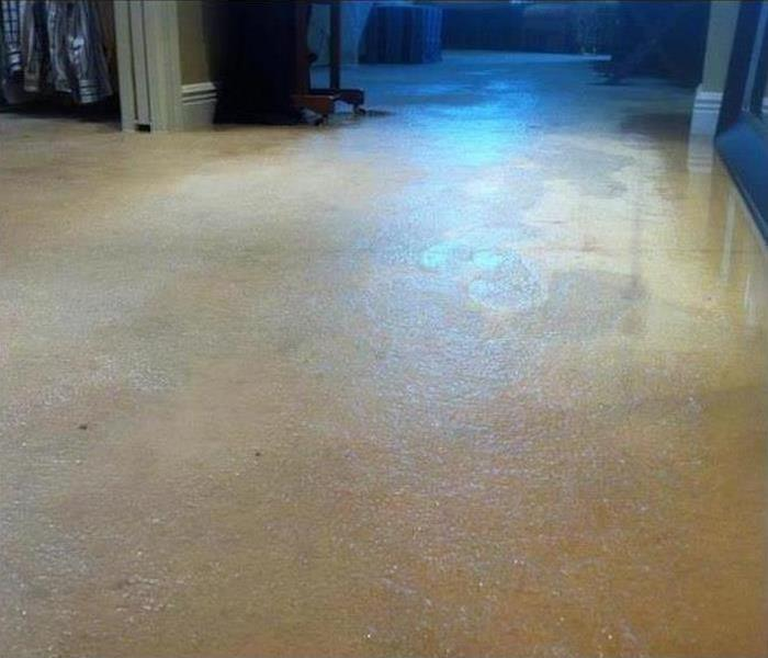 Water Damage – Norristown Home Before