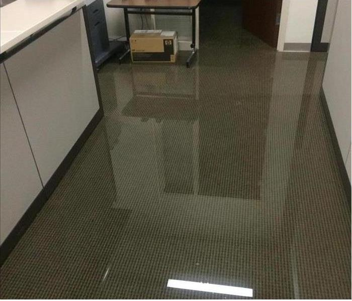 Office Suite in Norristown is Flooded Before