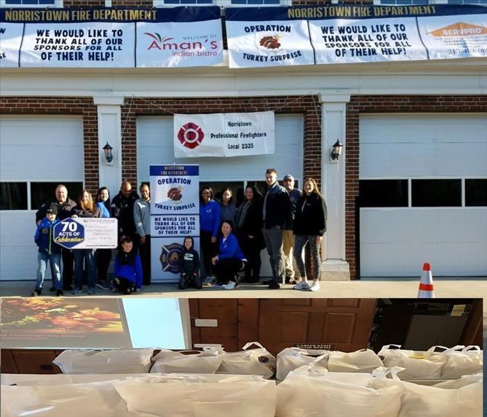 The 2018 Turkey Surprise Event at the Norristown Fire Department