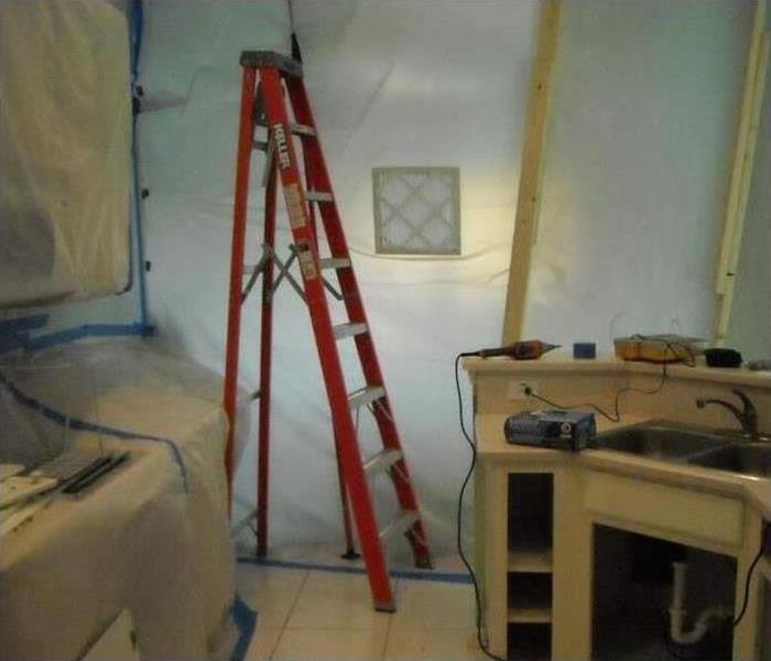 Mold Damage – Norristown Bathroom