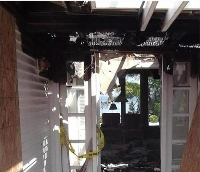 Fire Damage in a Norristown Home