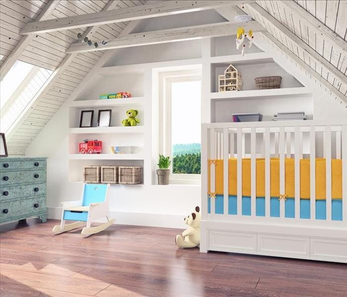Water Damage Water Damage can Decrease the Safety of Your Newborn's Nursery in Norristown